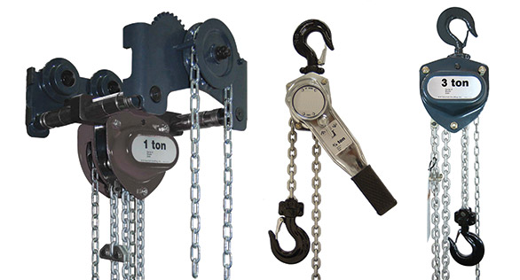 Ezi Lift Chain & Lever Blocks