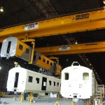 Overhead Crane for trains
